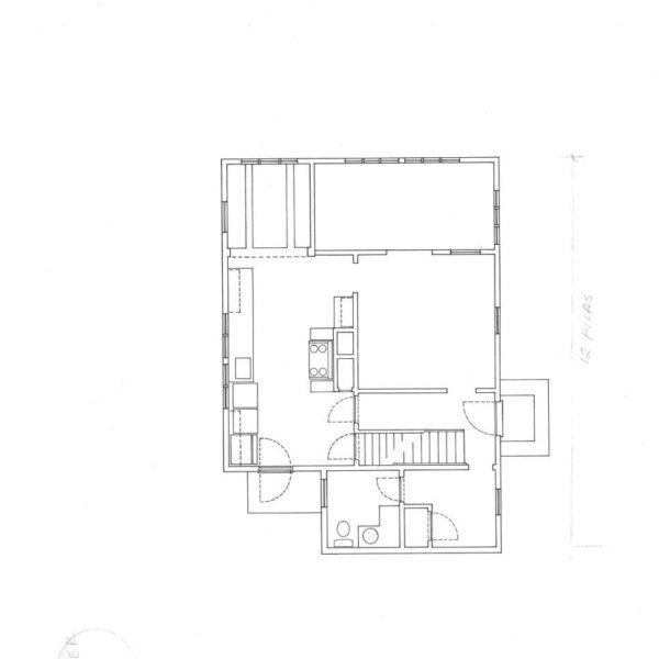 Existng Ground Floor Plan