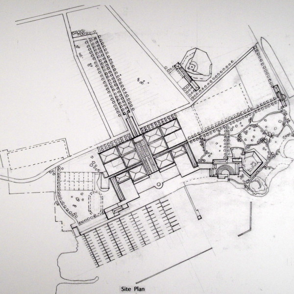 Site Plan showing the Casinos, Hotels and Outdoor Performance Center