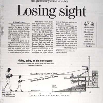 Losing SIght
