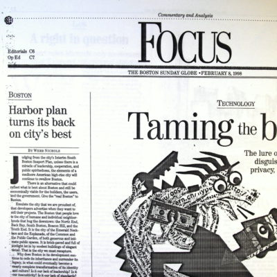 Harbor plan turns it back on city's best