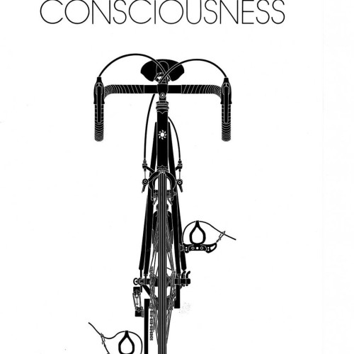 Bicycle Consciousness Poster