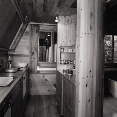 View of Kitchen looking toward bedroom wing