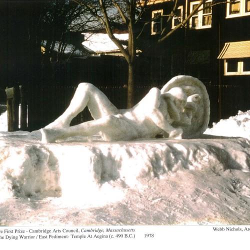 Ice Sculpture, First Prize, Cambridge